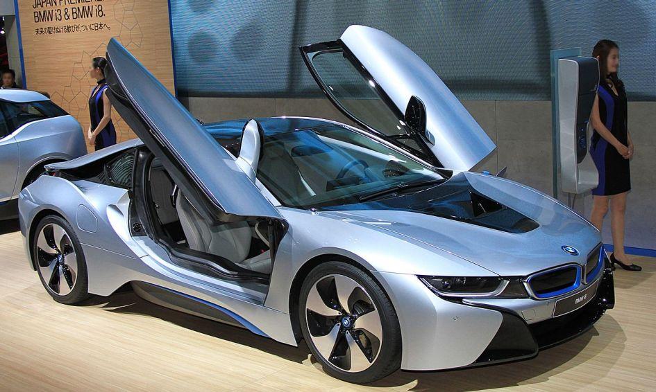 BMW i8, hybrid supercar, гібридний суперкар