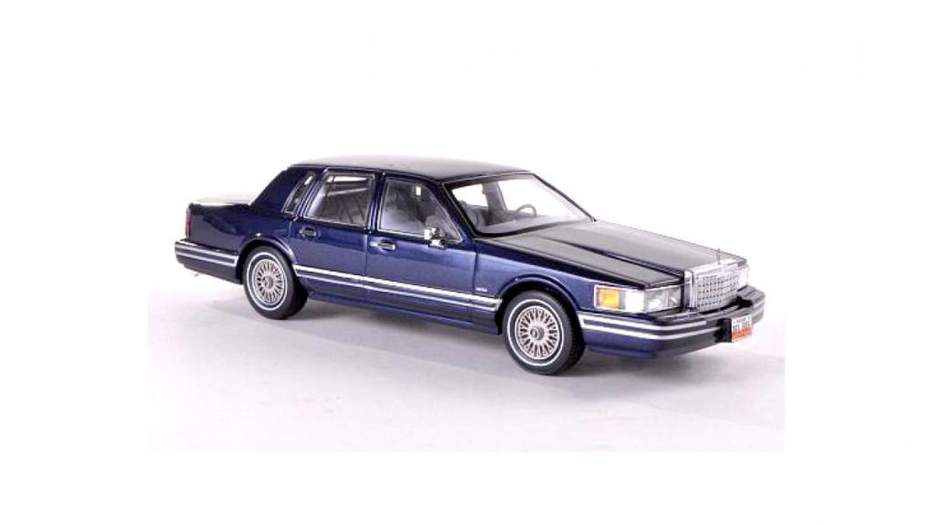 Lincoln Town Car, 1990-s, model, модель