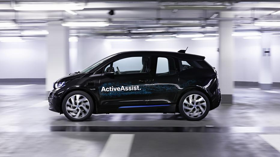 BMW i3, automatic parking, автоматичне паркування