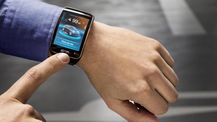 smartwatch bmw valet parking system , автоматичне паркування