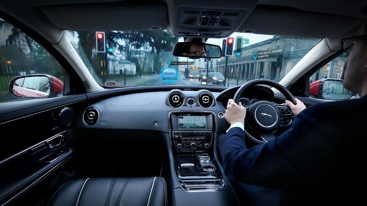 front panel Jaguar, передня панель Ягуара