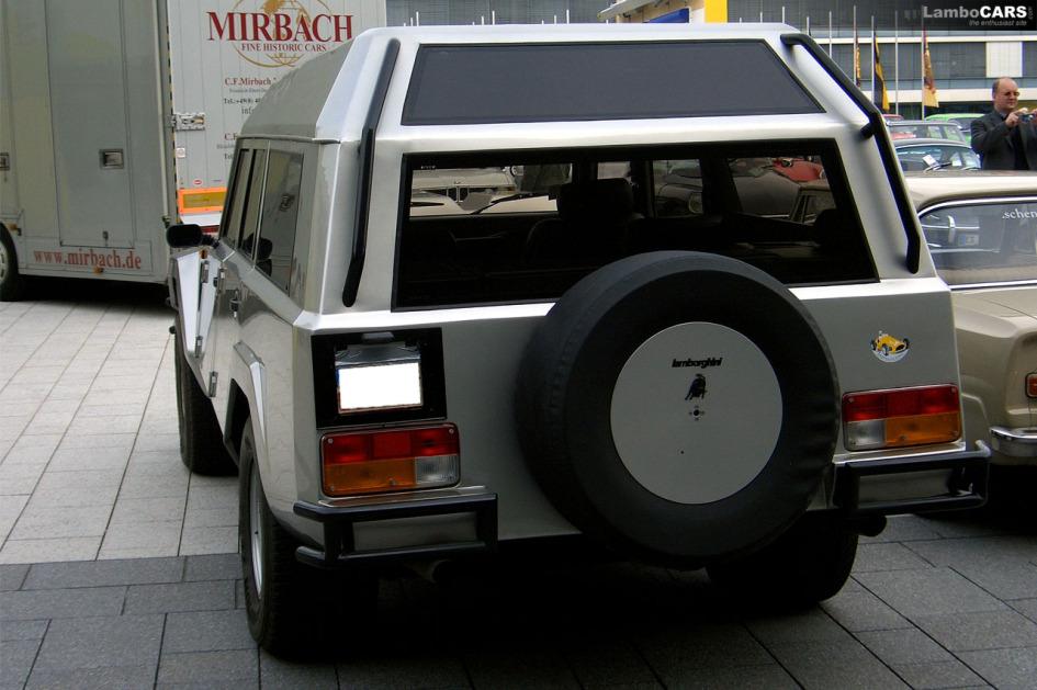 Lamborghini LM002 Salvatore Diomante, estate wagon