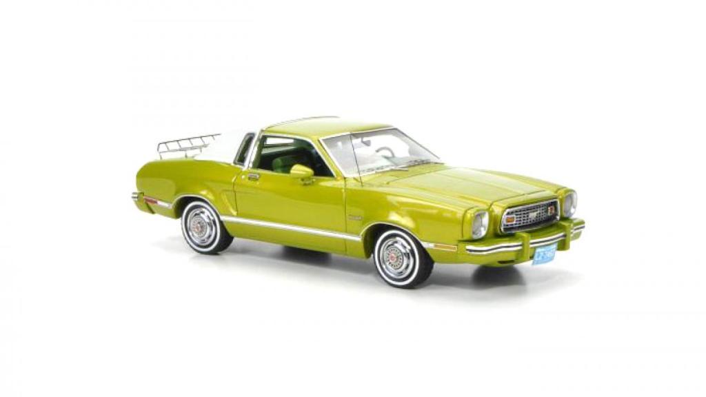 Ford Mustang II Ghia, model, модель