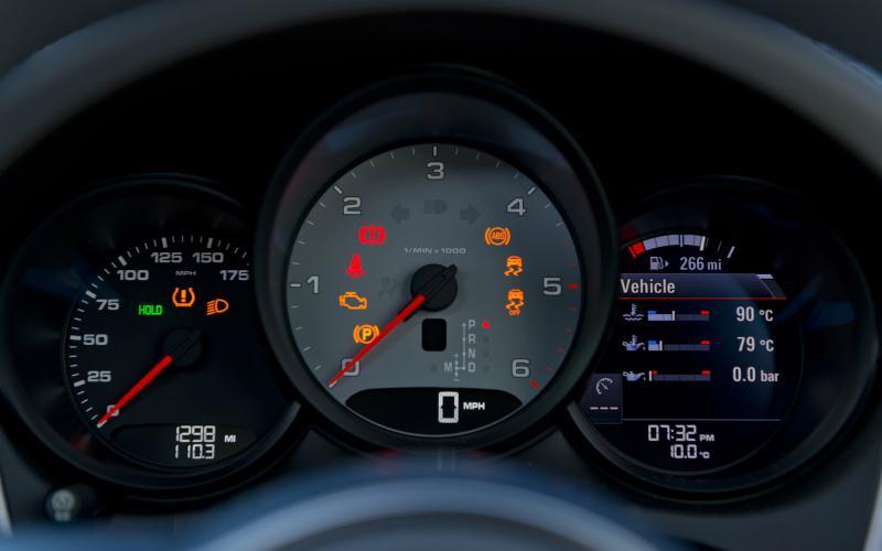 Porsche Macan, Diesel, S, Turbo, щиток