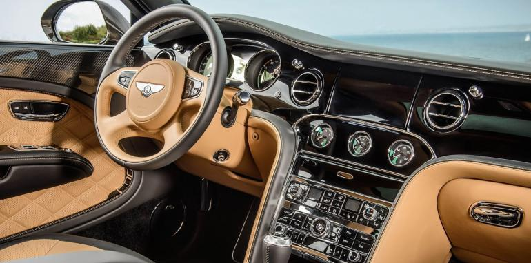 Bentley Mulsanne, інтер'єр