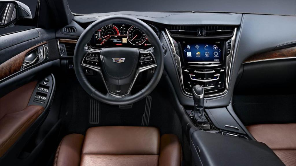 Cadillac CTS 2015, інтер'єр