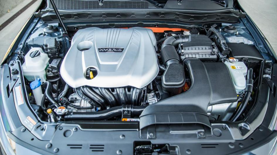 Kia Optima EX, hybrid, гібрид, engine, двигун, 2,4 л., електромотор