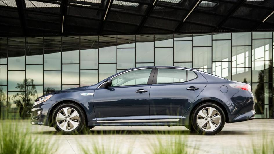 Kia Optima EX, hybrid, гібрид