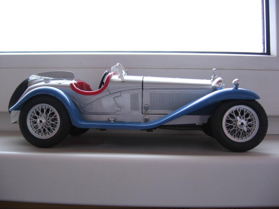 Alfa Romeo 2300, 1932 рік, Bburago, 1/18