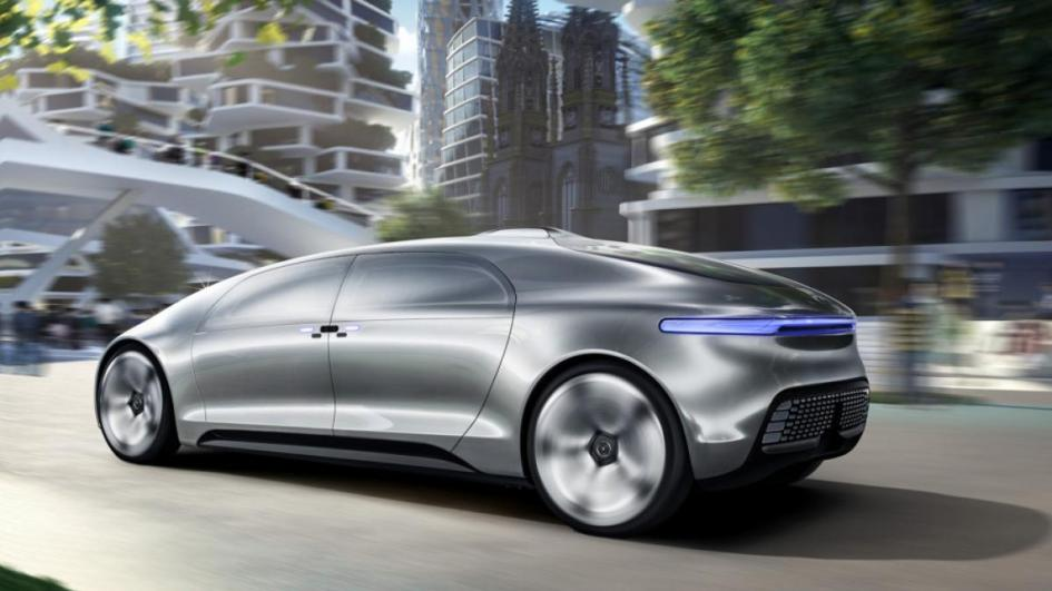 Mercedes-Benz F015, hydrogen, electric engine