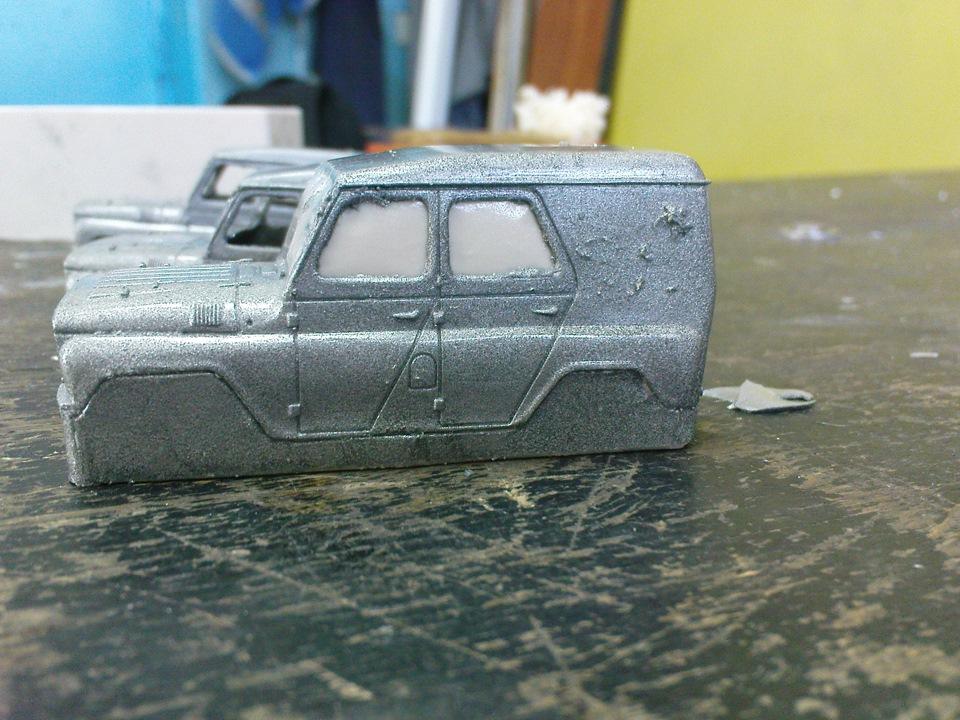 TMTmodels, майстерня, УАЗ-469, міліція