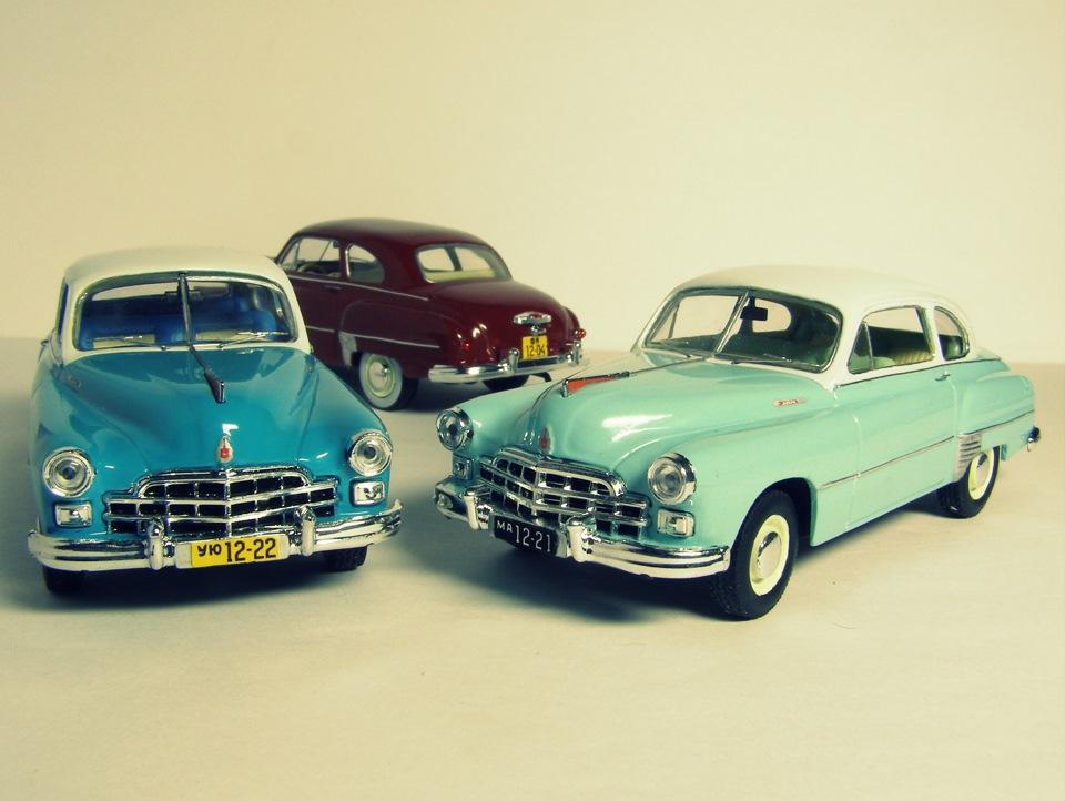 TMTmodels, майстерня, ГАЗ-12 ЗиМ купе, готові моделі