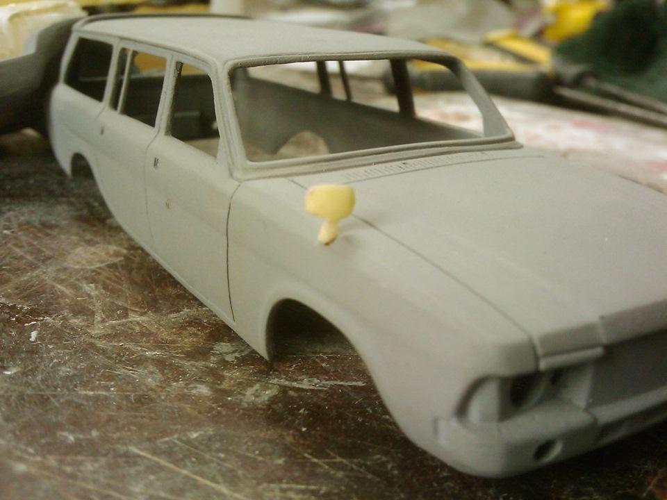 TMTmodels, майстерня, ГАЗ-3102 універсал