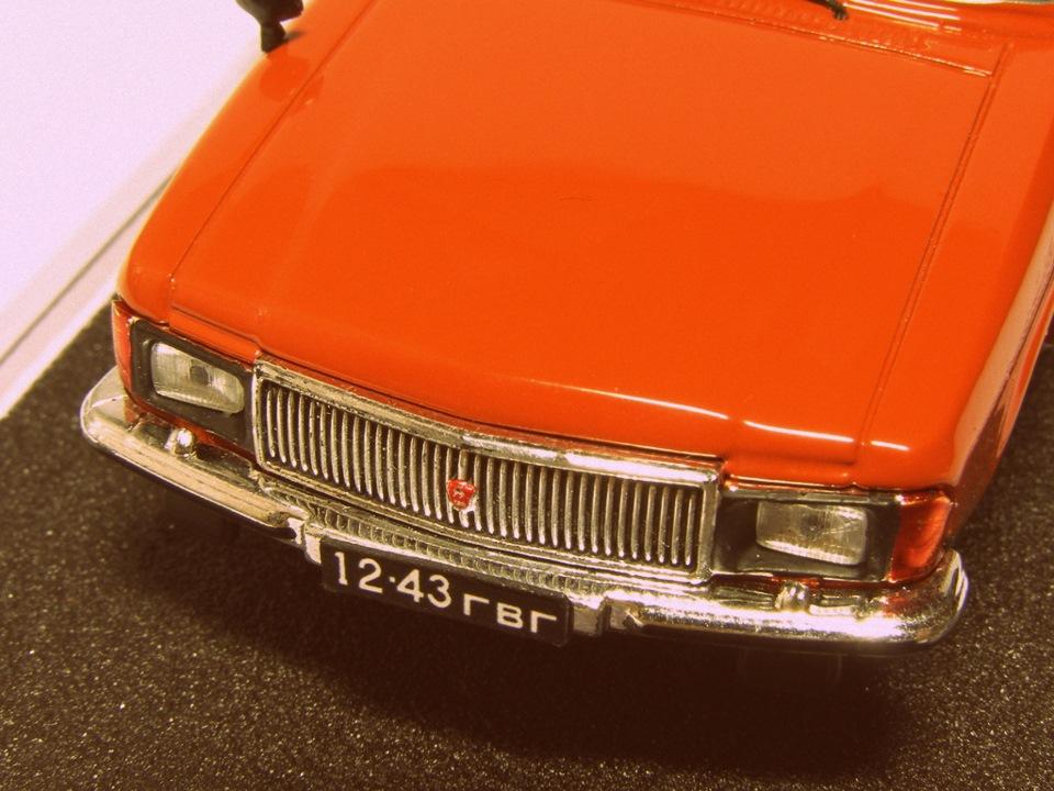 TMTmodels, майстерня, ГАЗ-3102 універсал, решітка радіатора і оклади фар