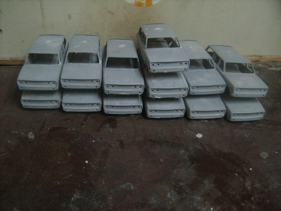 TMTmodels, майстерня, ГАЗ-24-12 універсал, кузов
