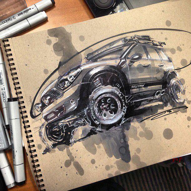 Douglas Breuninger concept-art, sketch
