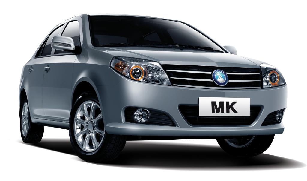 фото Geely MK, китайське авто