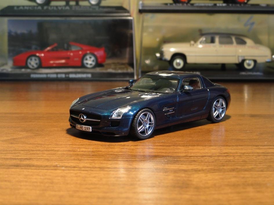 фото Mercedes-Benz SLS, Schuco