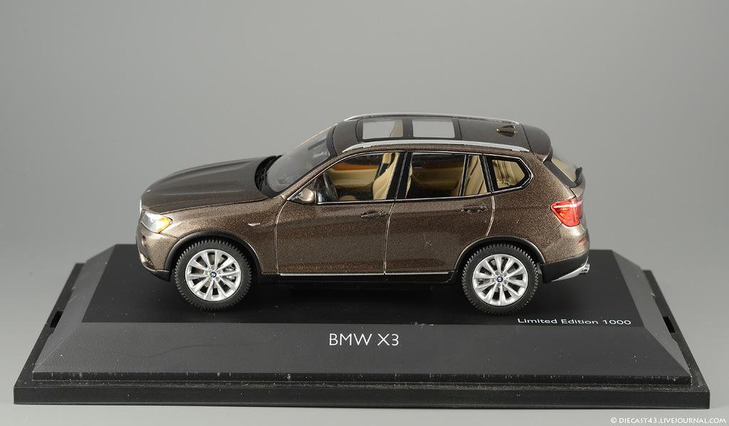 фото BMW X3, Schuco