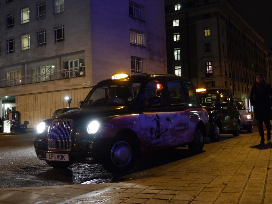 фото лондонський кеб, Metrocab, електро