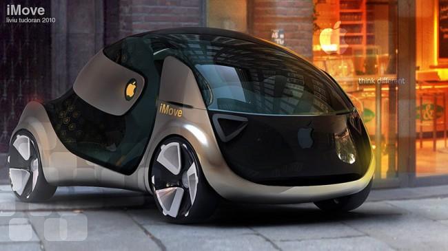 фото Apple iMove, електромобіль
