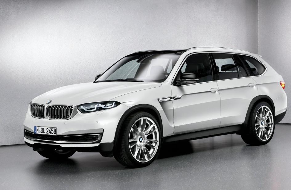 фото BMW X7 2018, комп'ютерна модель