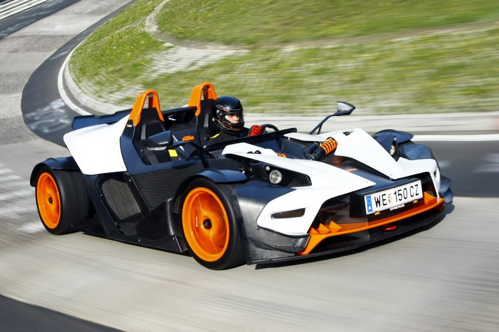 фото авто без лобового скла, KTM X-Bow R