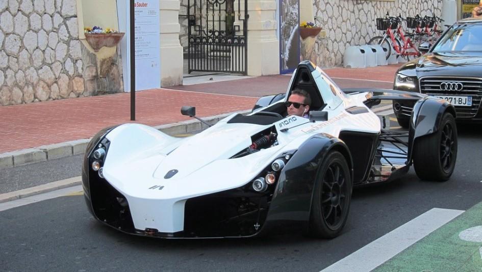 фото авто без лобового скла, BAC Mono
