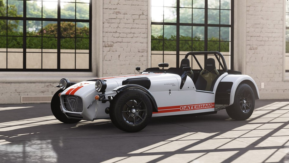 фото авто без лобового скла, Caterham Seven Superlight R500