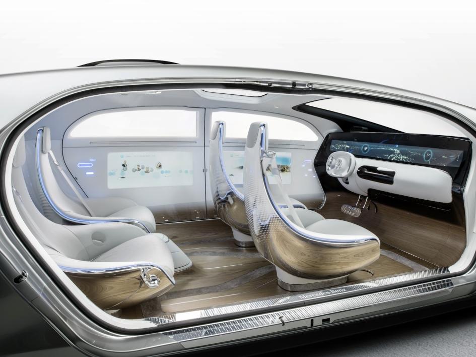 фото Mercedes-Benz F015 Luxury in Motion 2015