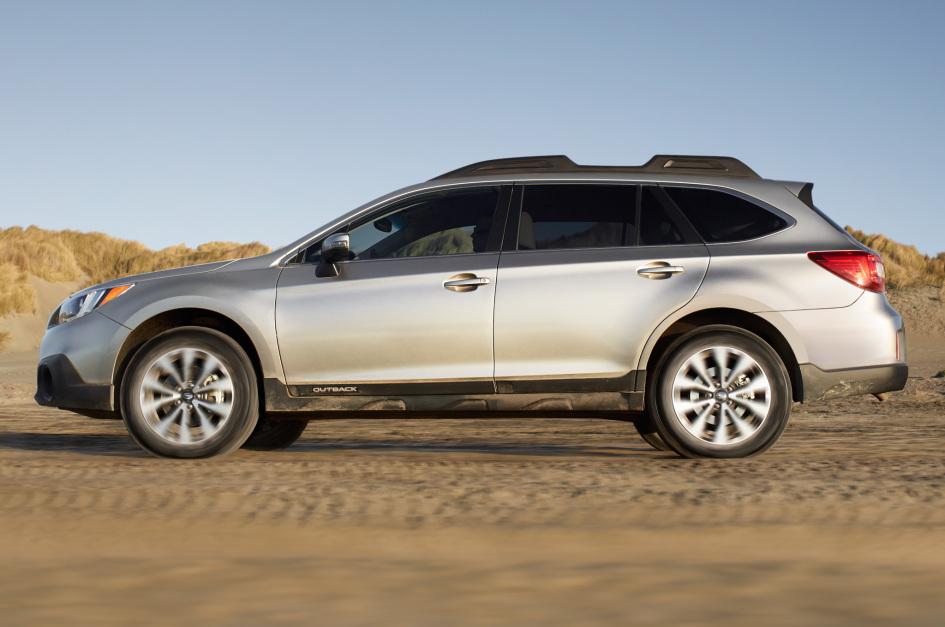 фото Subaru Outback 2015, 85 Женевський автосалон, X-mode