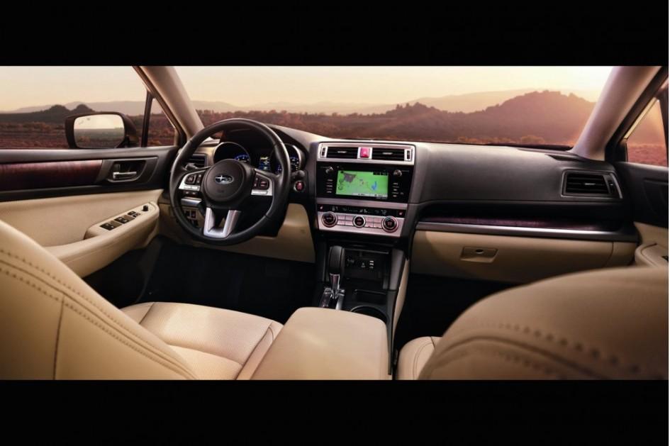 фото Subaru Outback 2015, 85 Женевський автосалон, салон, інтер'єр, interior, X-mode