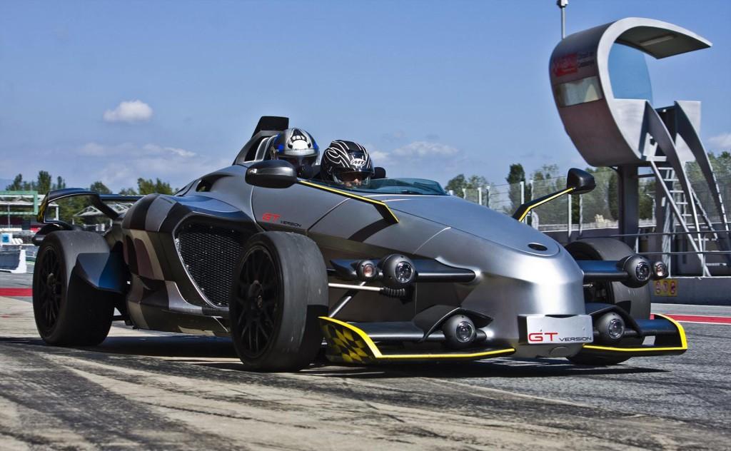 фото авто без лобового скла, Tramontana GT