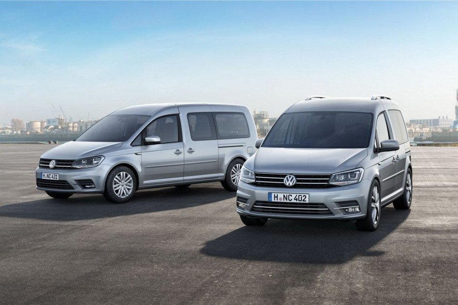фото VW Caddy Maxi 2015