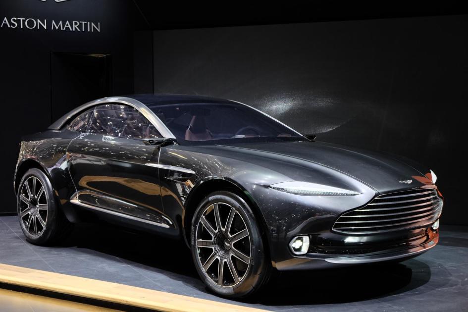 фото Aston Martin DBX Concept 2015