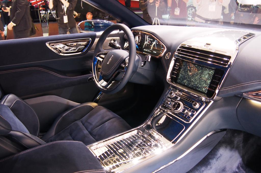 фото Lincoln Continental 2016, 2015, New-York, Нью-Йорк