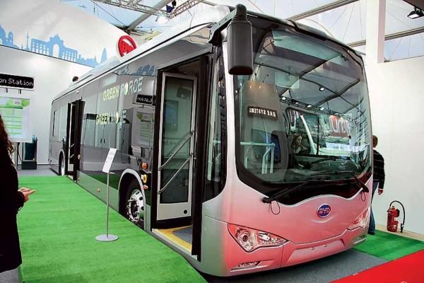 фото електробус, чжучжоуська компанія, Flash charge