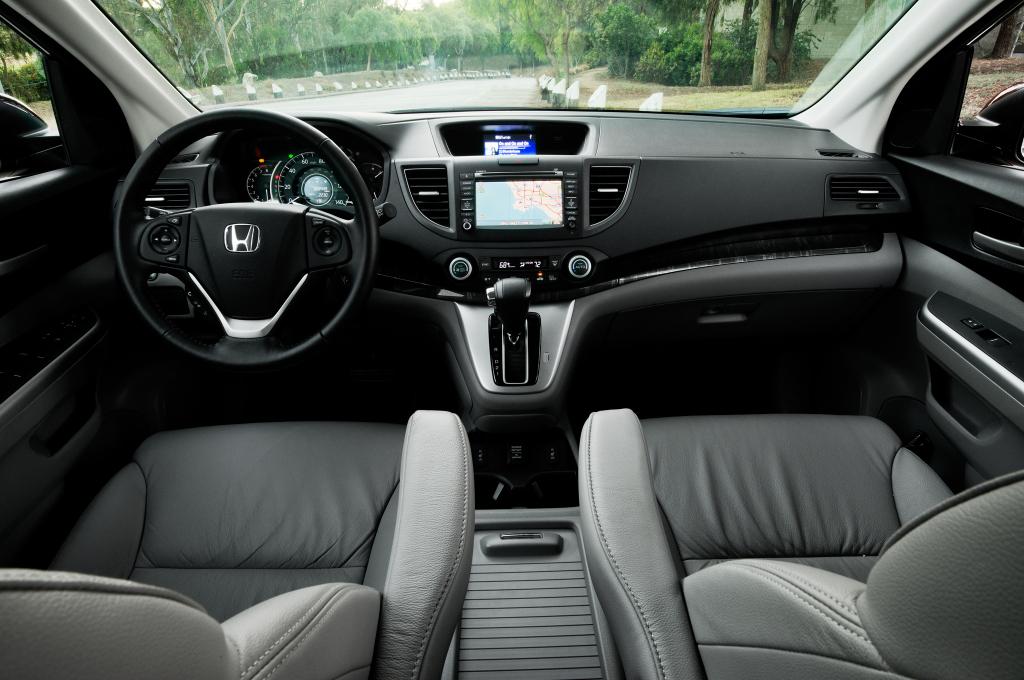 фото Honda CR-V 2014, інтер'єр, салон, місце водія