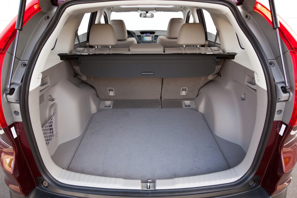 фото Honda CR-V 2014, інтер'єр, багажник