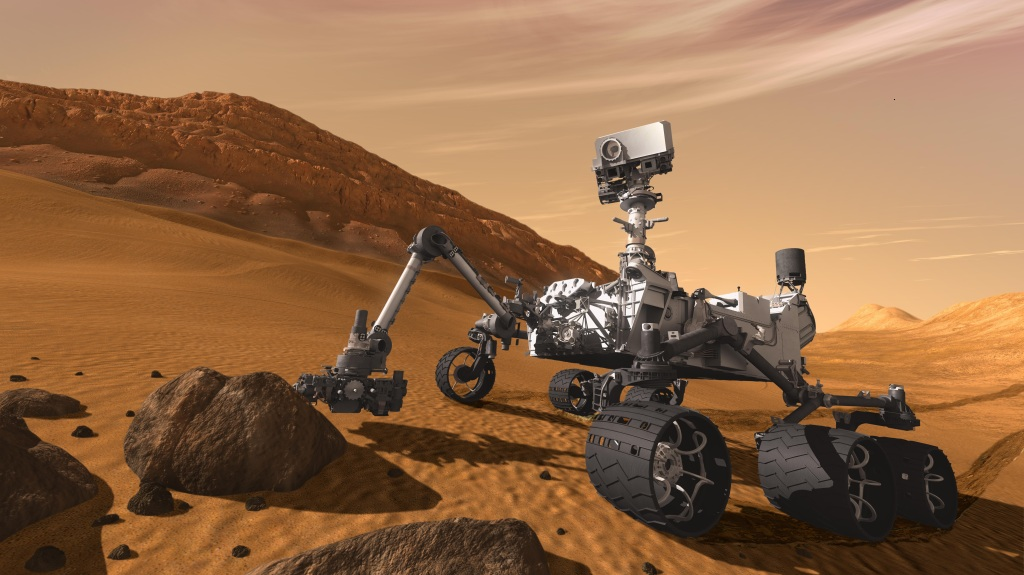 фото ТОП-10 автомобілів, що змінили світ, NASA Curiosity