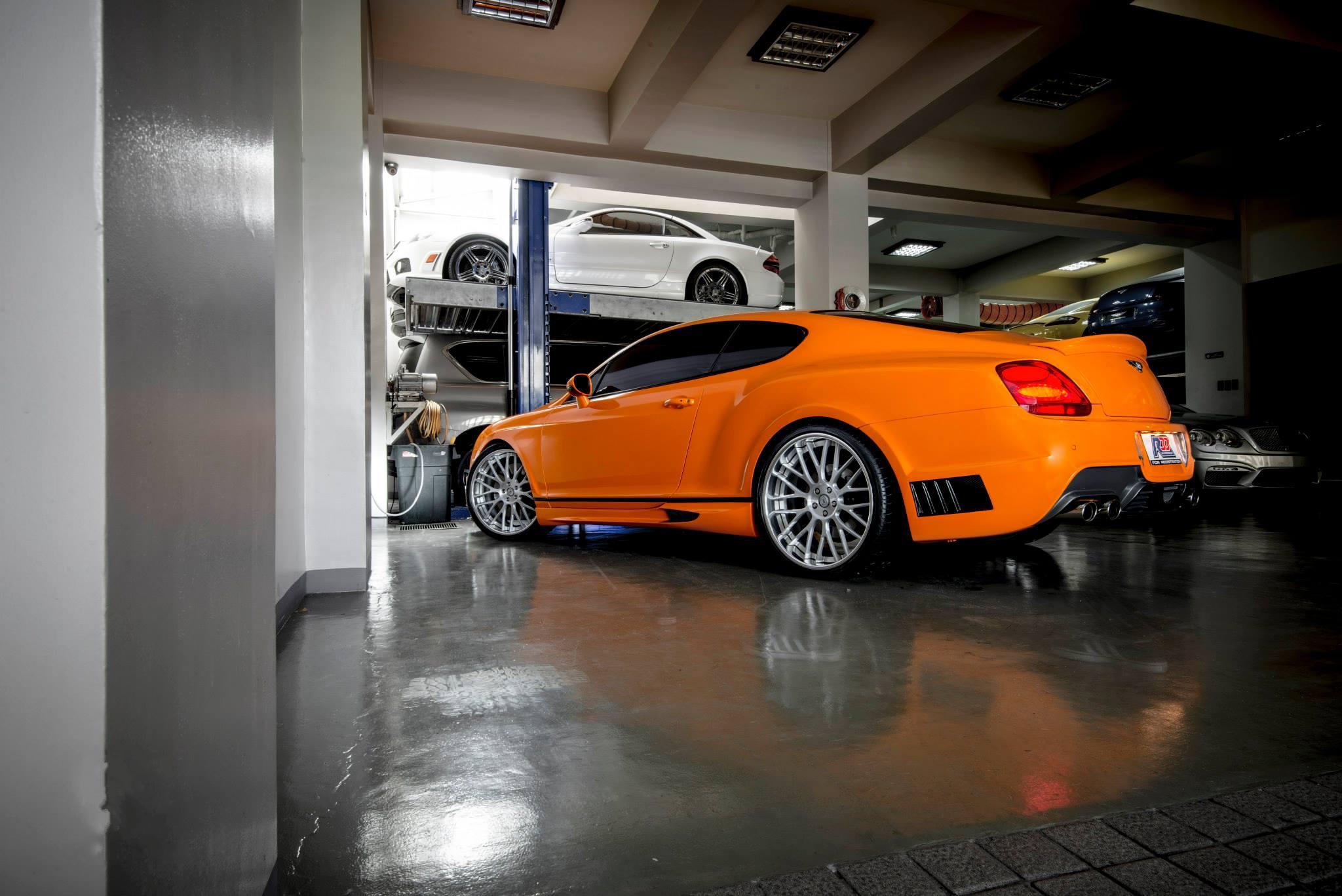 фото Bentley Continental GT, Wald