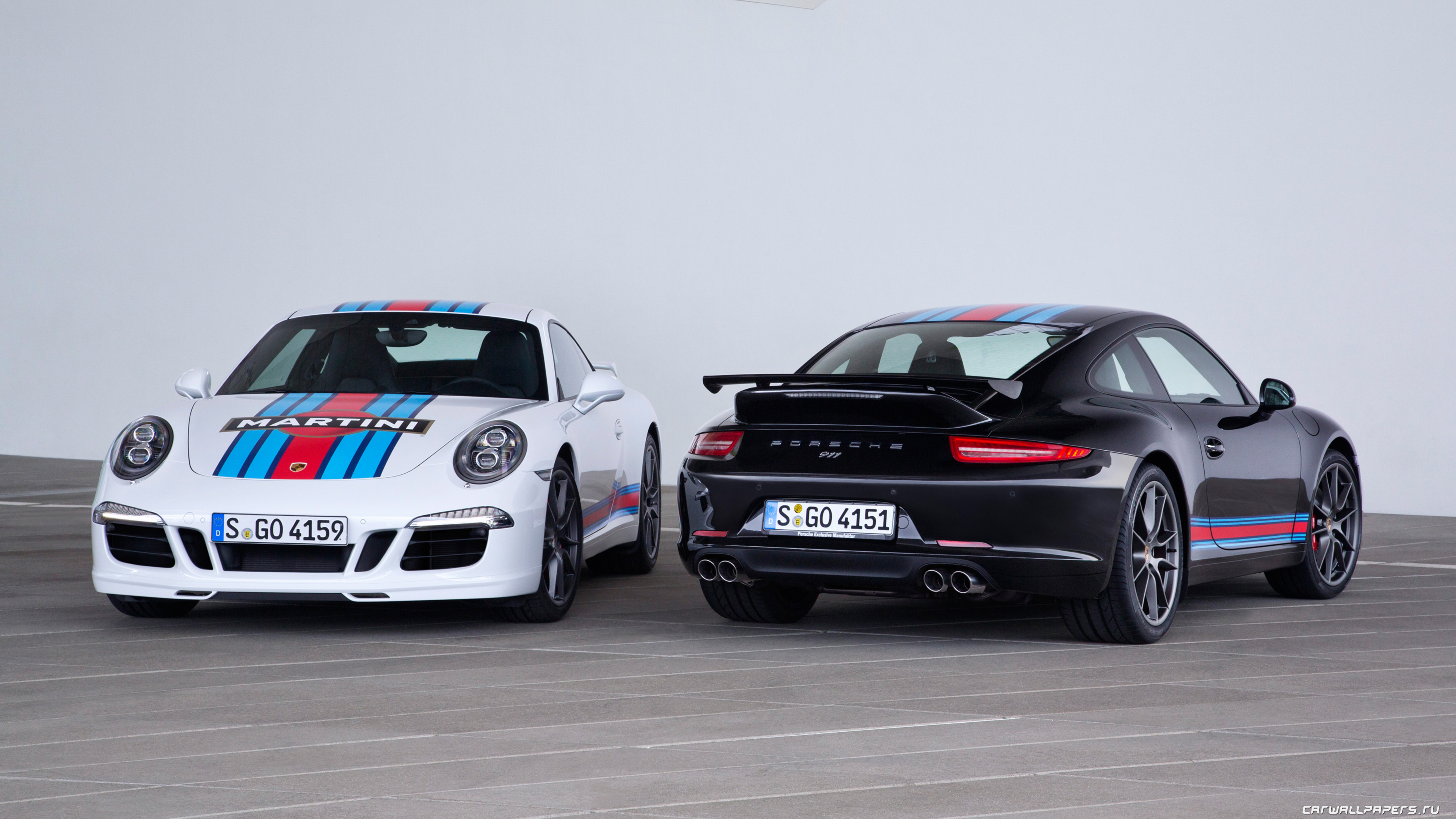 фото Porsche 911 S Martini Racing Edition