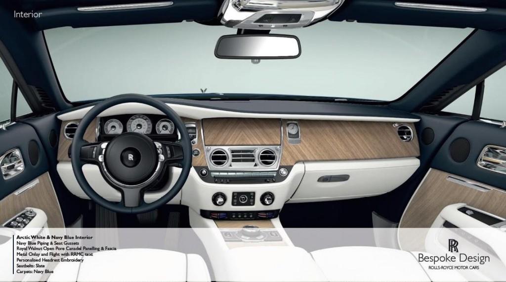 фото Rolls-Royce Wraith Porto Cervo, панель приладів