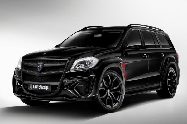 фото Mercedes-Benz GL Black Crystal