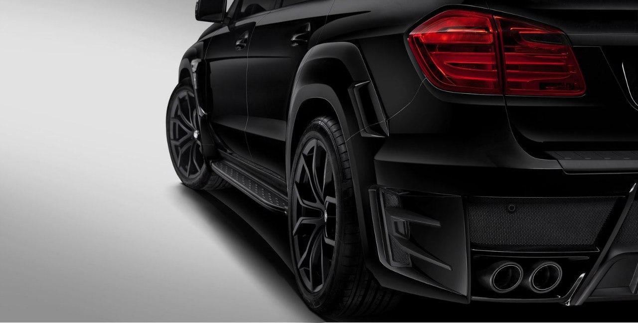 Mercedes-Benz GL Black Crystal