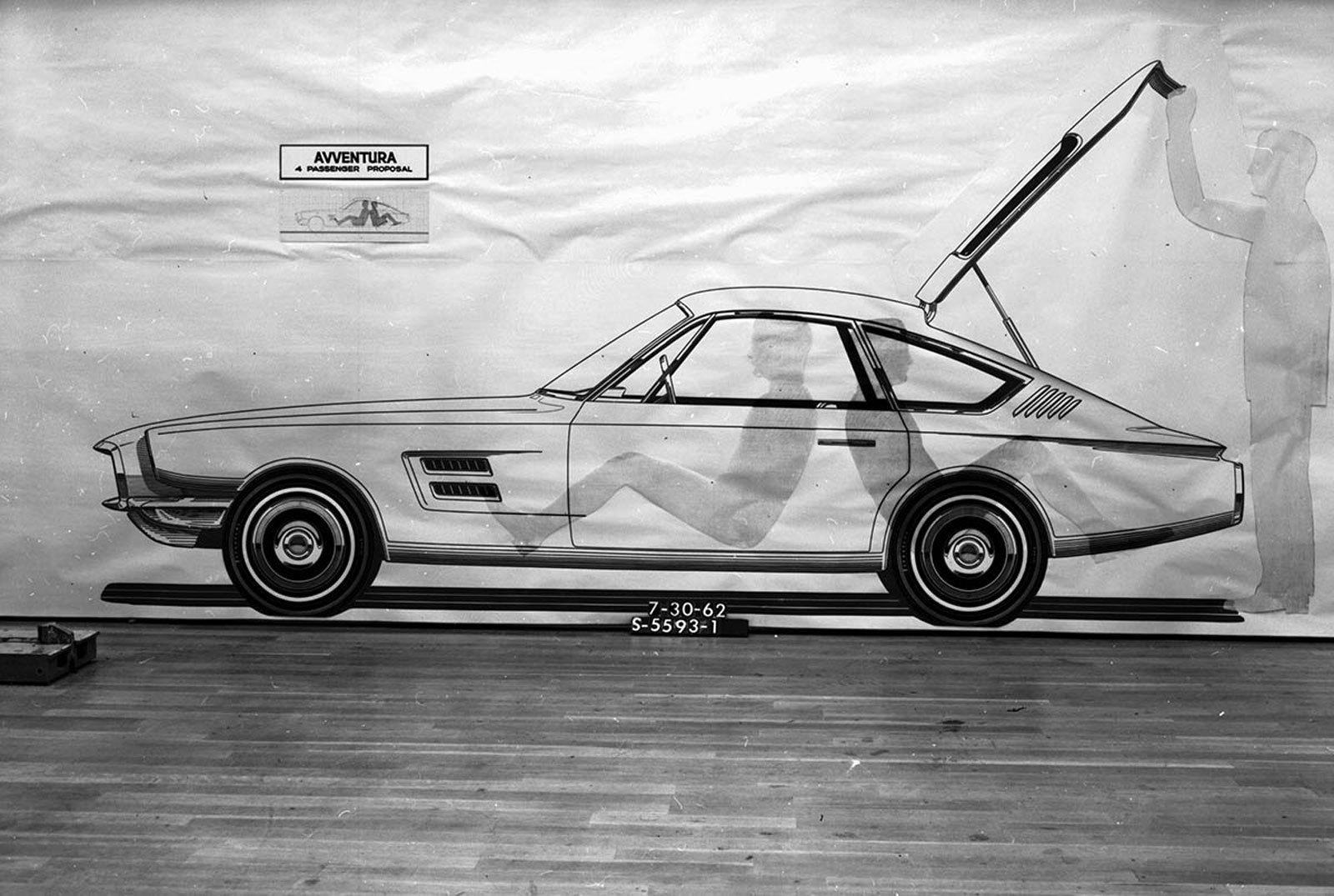 1961 Avventura, Avanti, Allegro, фото Ford Mustang