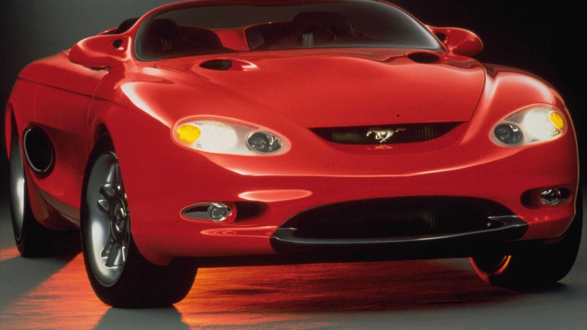 1992 Mach III Concept, фото Ford Mustang