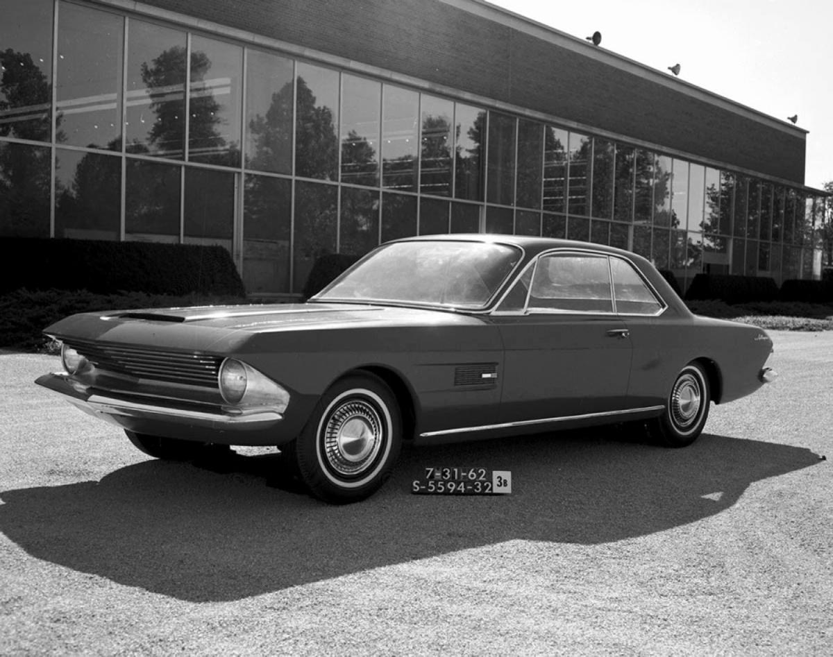 1962р. Allegro Design, фото Ford Mustang