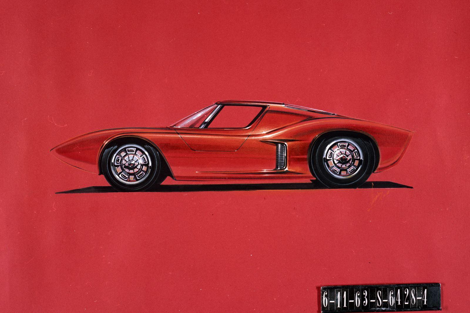 1963р. Двомісний, среднемоторний Mustang, фото Ford Mustang