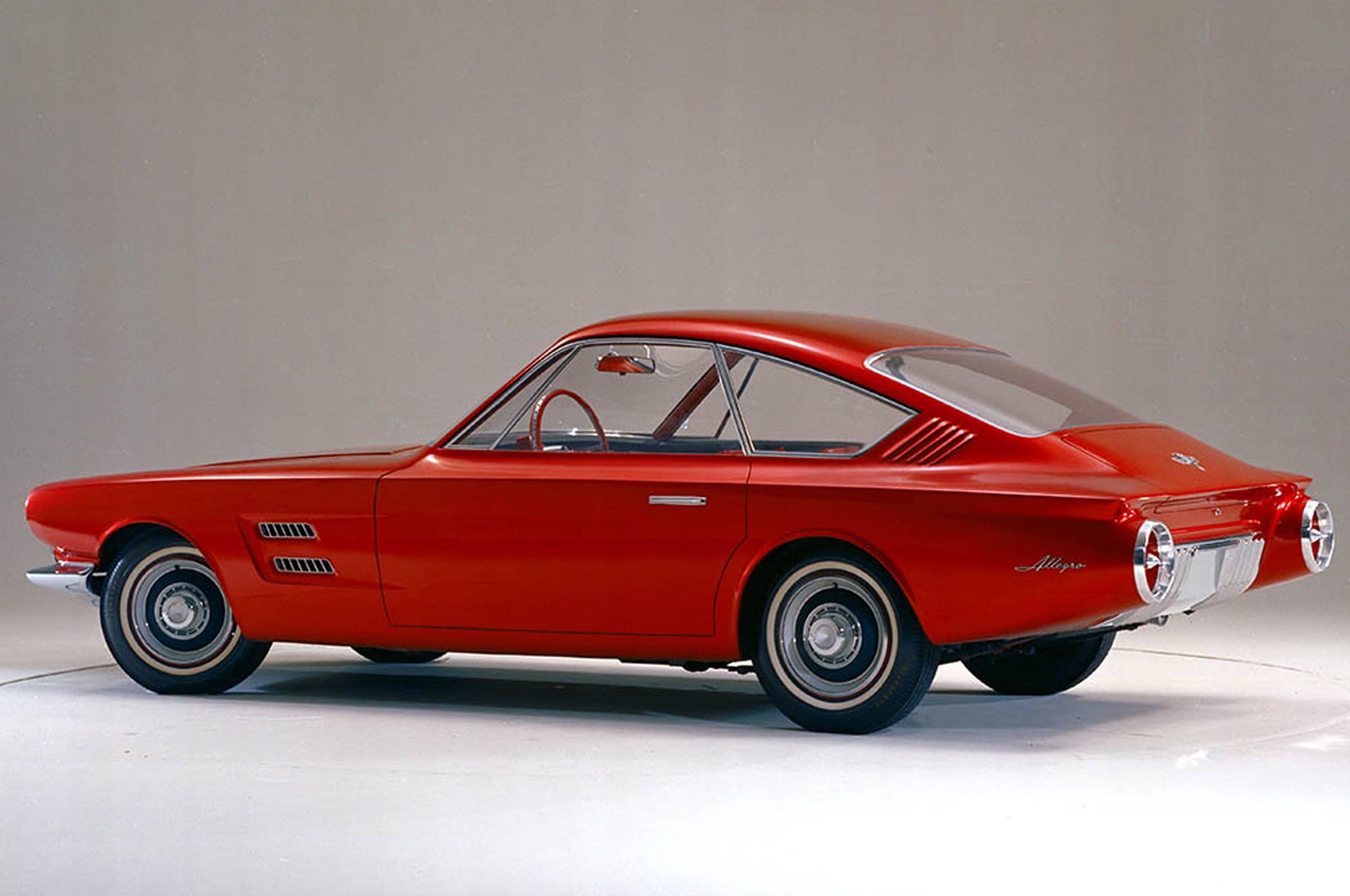 Avanti/Allegro Concept, фото Ford Mustang